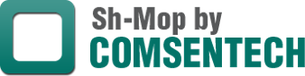 Logo, Sh-Mop by COMSENTECH, Terry Cloth Mop in Lake Charles, LA
